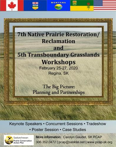 2020 Transboundary Grasslands Workshop
